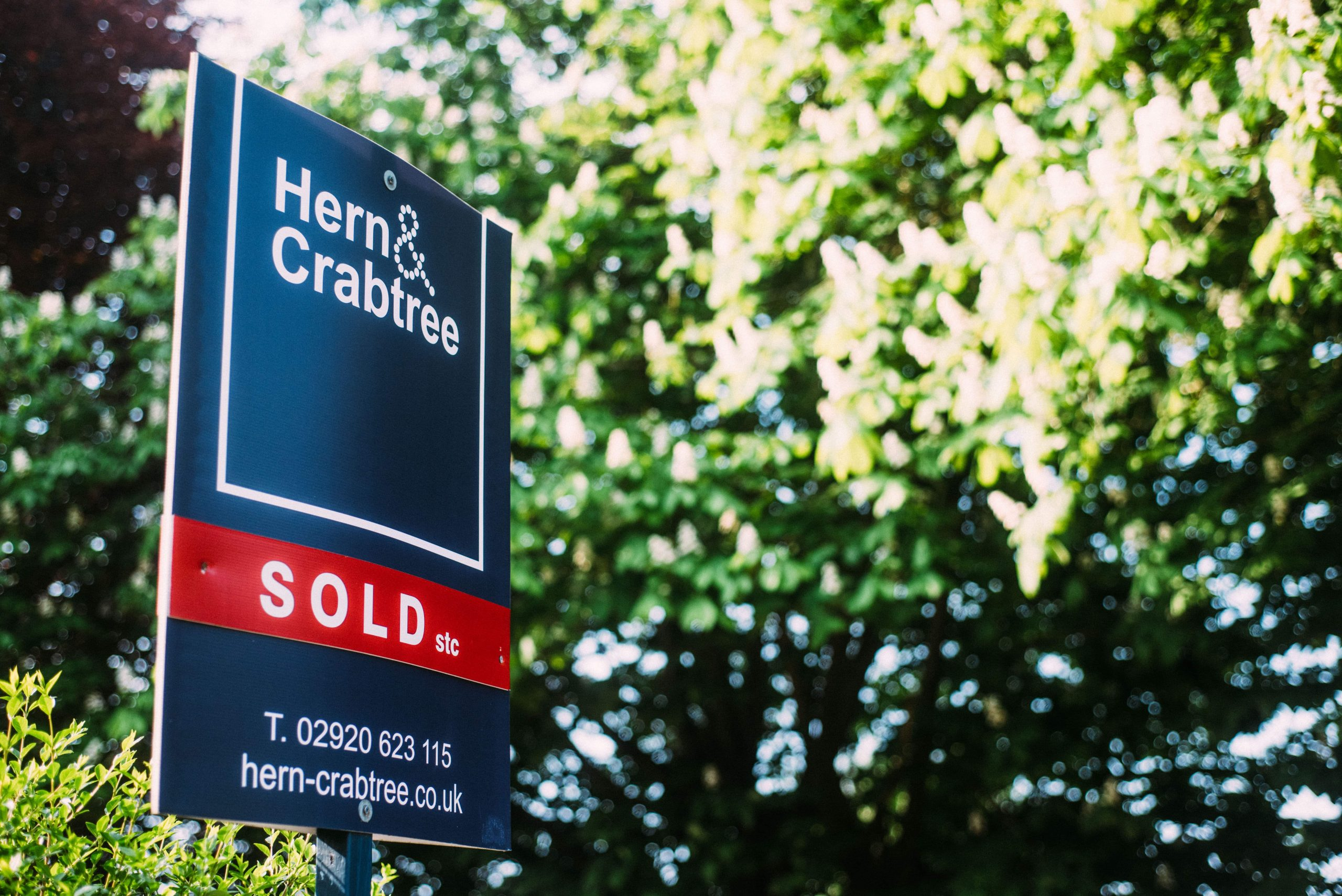 Hern and Crabtree Sold Sign