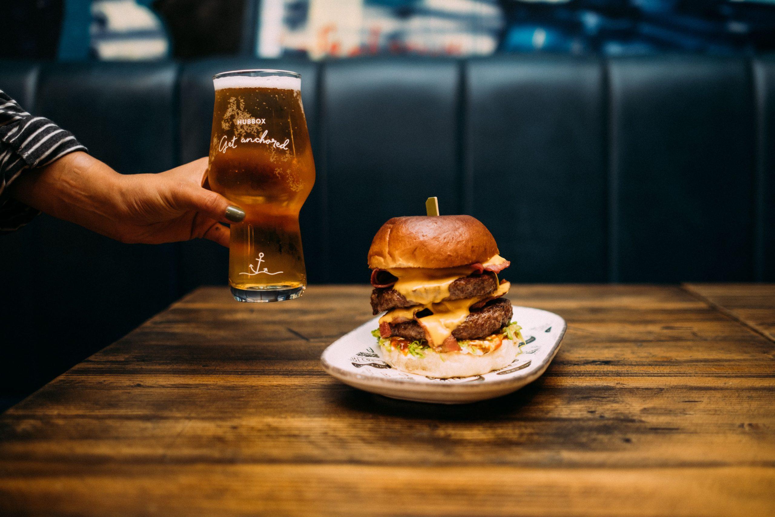 Hubbox Cardiff Burger